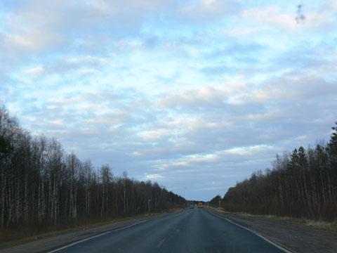 Дорога на Архангельск