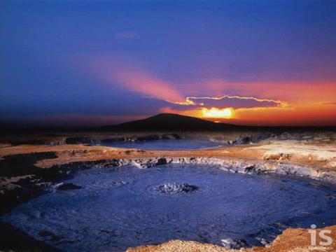 Геологически активная местность Намаскард (Namaskard)