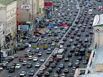 5 миллионов авто - предел для столицы